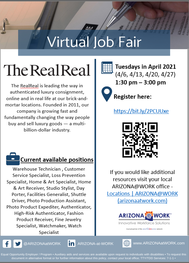 The RealReal Hiring Event